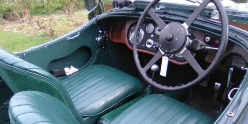 Alvis Speed 20 restored by  Brownings Restoration